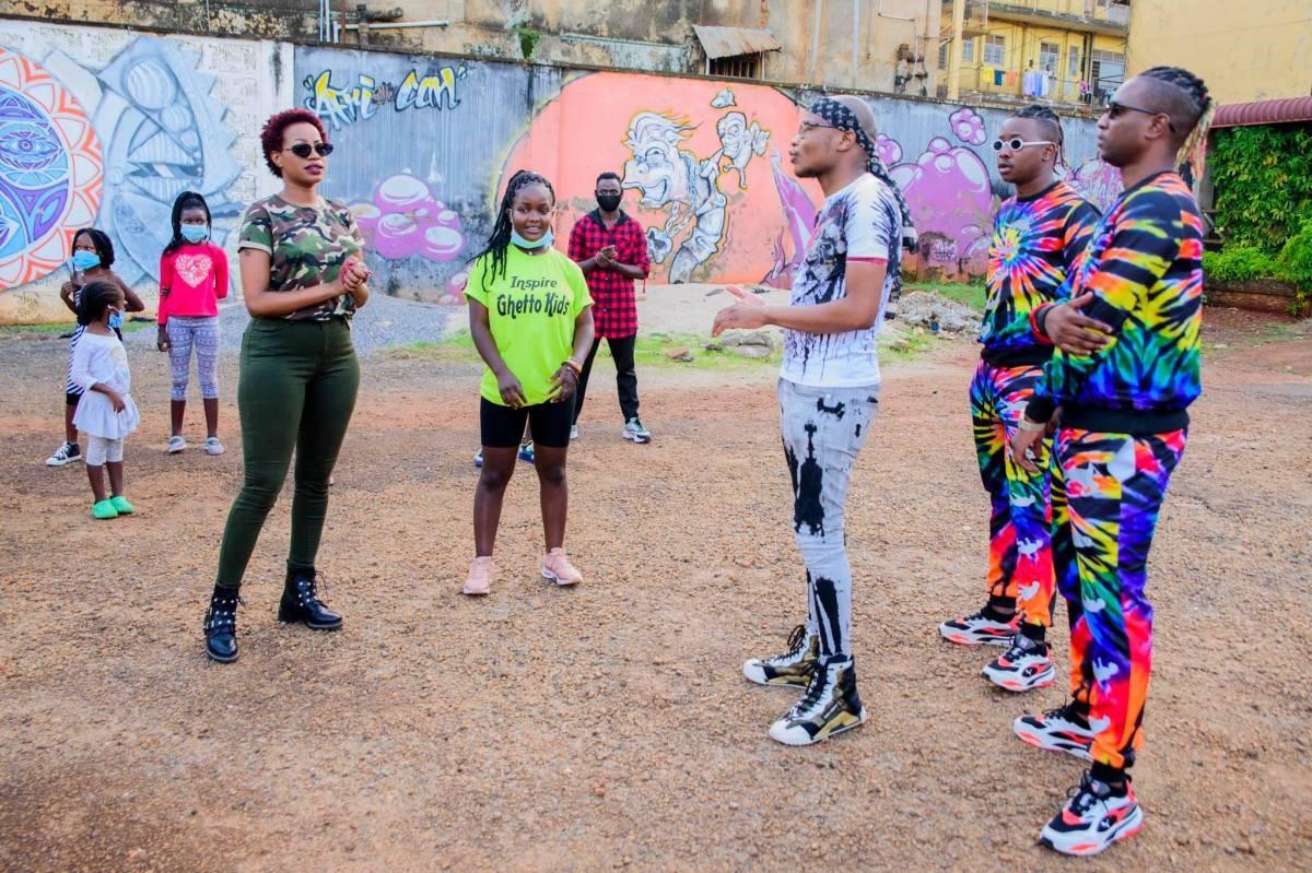 Sheebah, Master KG and Ghetto Kids (PHOTO/Courtesy).