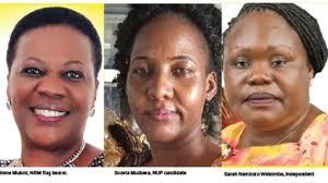 Bulambuli woman MP contestants (PHOTO/Courtesy).
