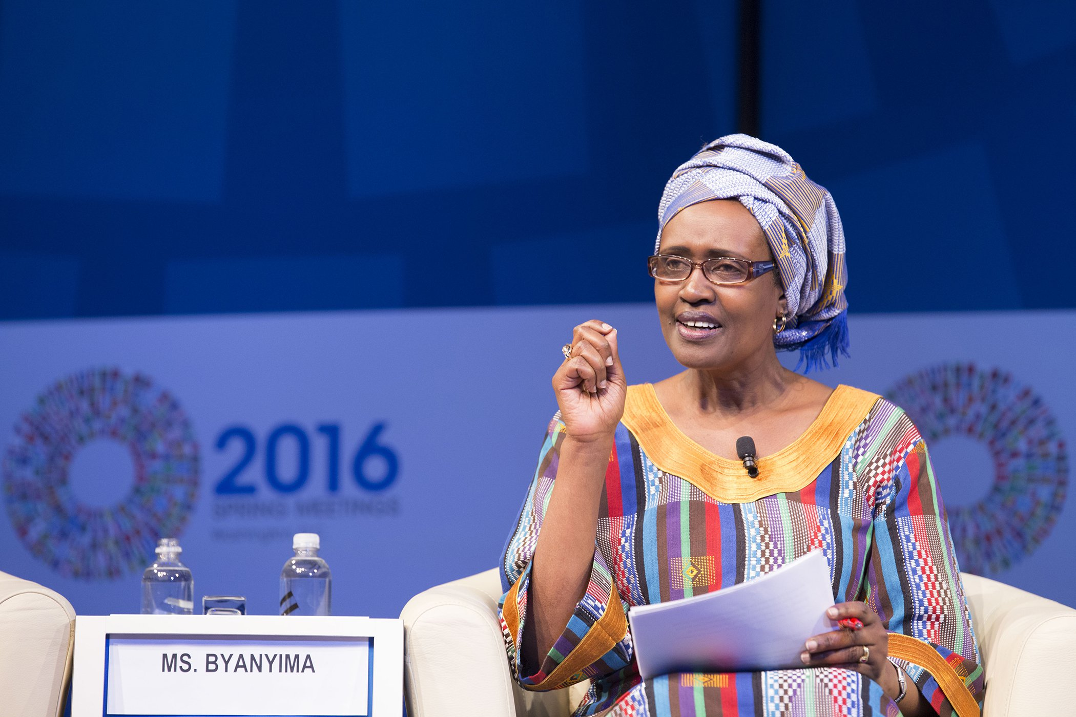 Eng. Winnie Byanyima, the UNAIDS Executive Director among finalists for this year's Global Citizen Prize for World Leader (PHOTO/Courtesy).