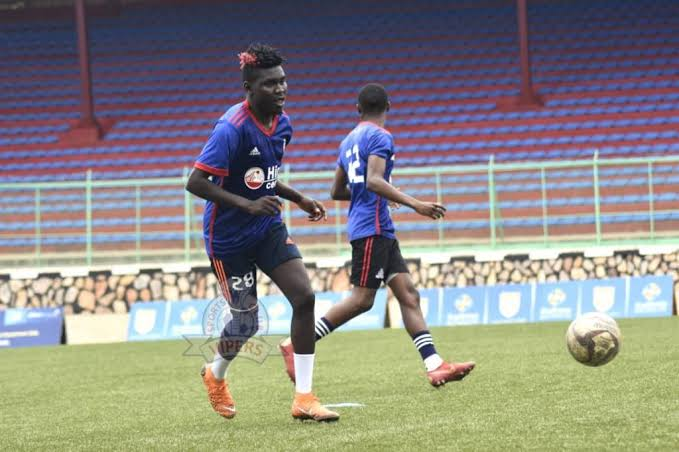 Shaban joined Vipers in August 2019 and has been sidelined with injury eversince. (PHOTO/Courtesy)