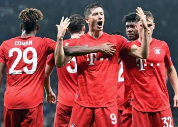 Bayern holds a big lead at the top of the Bundesliga. (PHOTO/Courtesy)