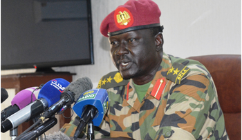 SSPDF deputy spokesman Brigadier Santo Domic (PHOTO/Courtesy).