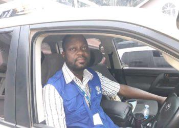 Frank Ntege, the International Organization for Migration's driver (PHOTO/Courtesy).