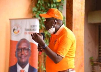 Presidential candidate Gen Henry Tumukunde (PHOTO/Courtesy).