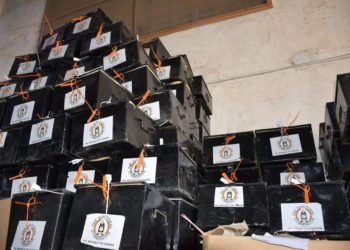 Some of the polling kits (PHOTO/Courtesy).