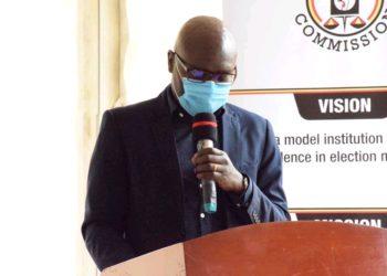 Electoral Commission boss Justice Simon Byabakama (PHOTO/Courtesy).