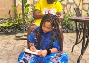 Singer Bebe Cool and wife Zuena (PHOTO/Courtesy).