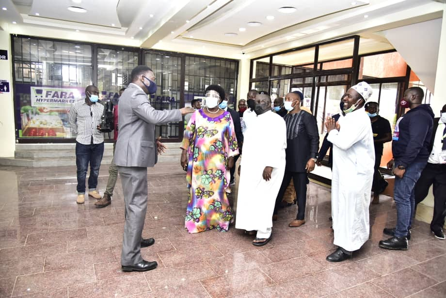 Businessmen after a meeting with Speaker Rebecca Kadaga (PHOTO/Courtesy).