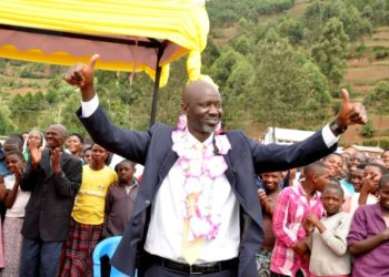 The incoming Kabale district boss Nshangabashe Neleson (PHOTO/Courtesy).
