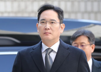The embattled Samsung Electronics Vice Chairman Lee Jae-yong (PHOTO/Courtesy).