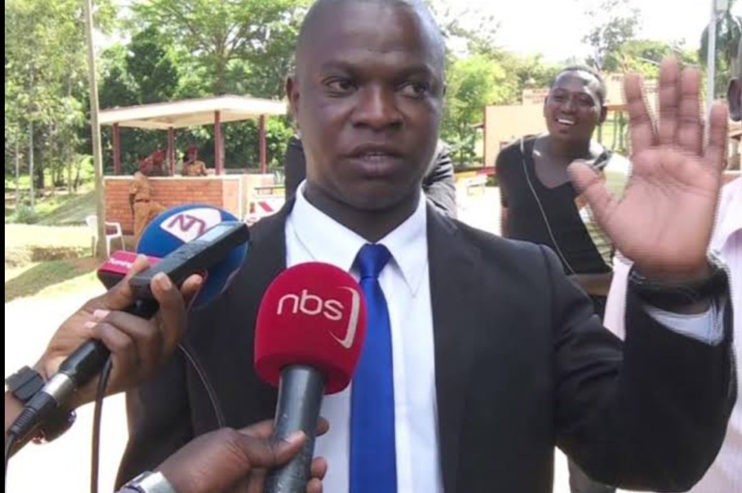 Kawempe North Member of Parliament – elect, Muhammad Ssegirinya speaking to the press (PHOTO/Courtesy).