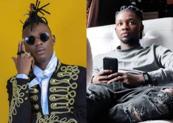 Ugandan and Nigerian singers Fik Fameica and Omah Lay respectively (PHOTO/File).