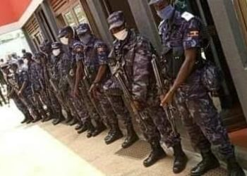 Military and the police have raided the National Unity Platform offices again (PHOTO/Courtesy).