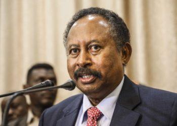 Sudan's Prime Minister Abdalla Hamdok (PHOTO/File).