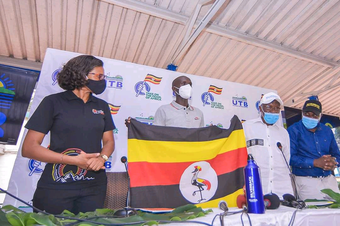 Joshua Cheptegei (M) Uganda Tourism Board ambassador (PHOTO/Courtesy).