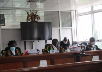 Judges in Court of Appeal during a hearing (PHOTO/Courtesy).