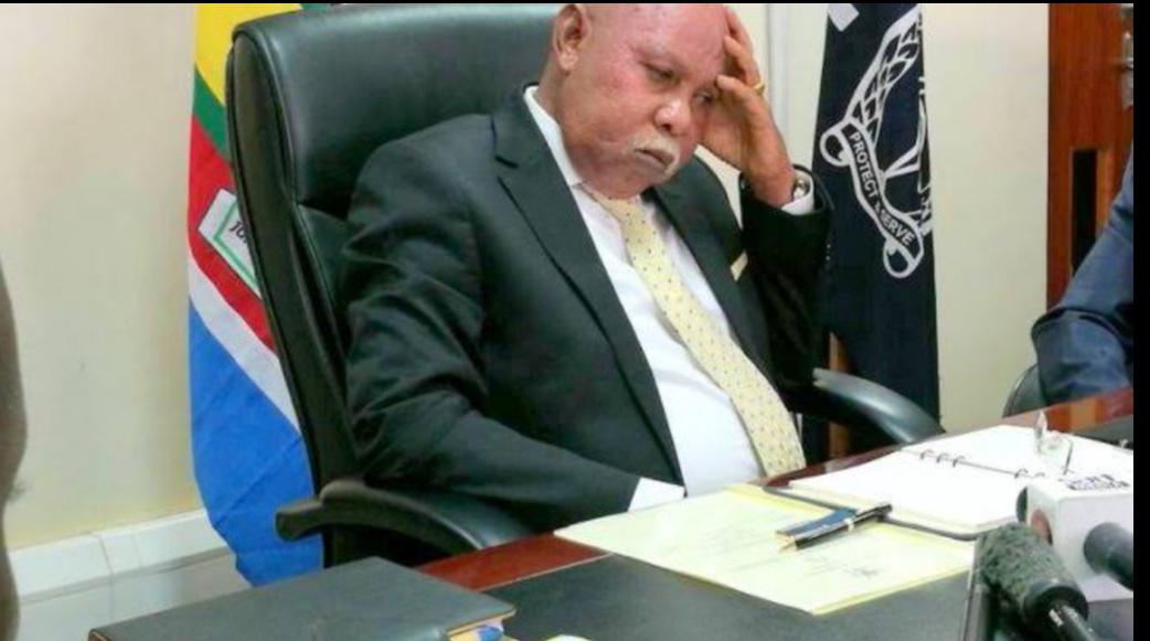 Internal Affairs Minister, Gen. Jeje Odongo (PHOTO/File).
