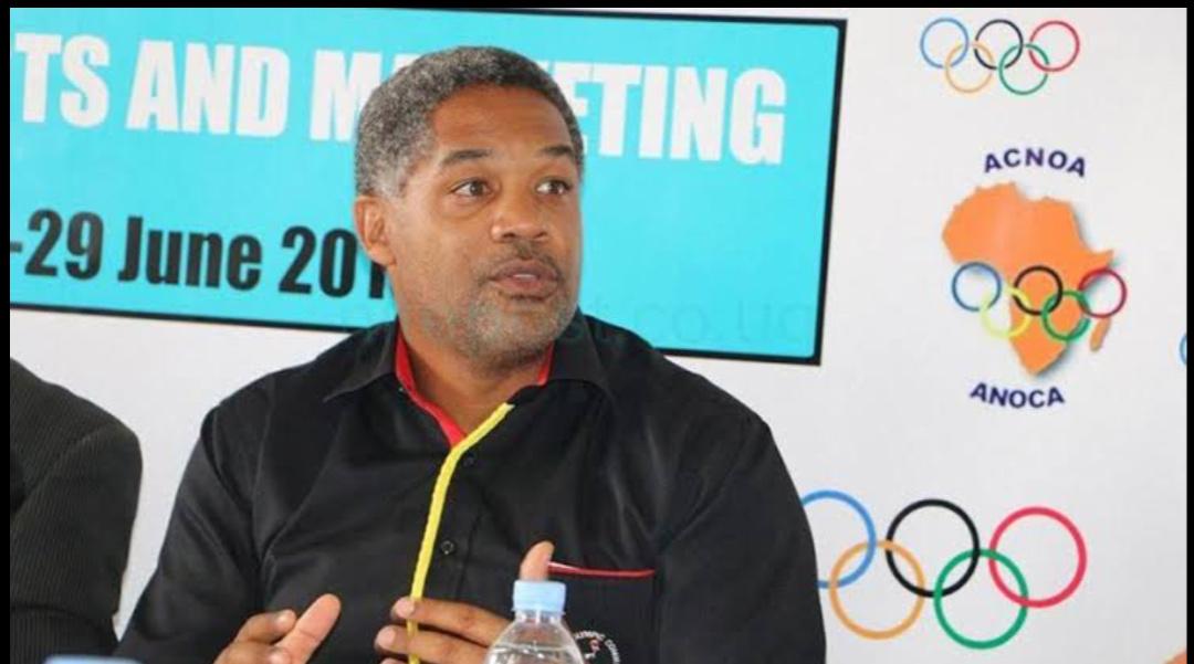Uganda Olympic Committee - president William Blick (PHOTO/Courtesy).