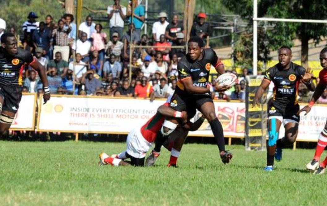 Past action involving Uganda Rugby Cranes and Kenya Simbas (PHOTO/File).