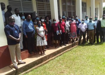 the impact study training of enumerators held at Mukono Zonal Agricultural Research and Development Institute (PHOTO/Courtesy)