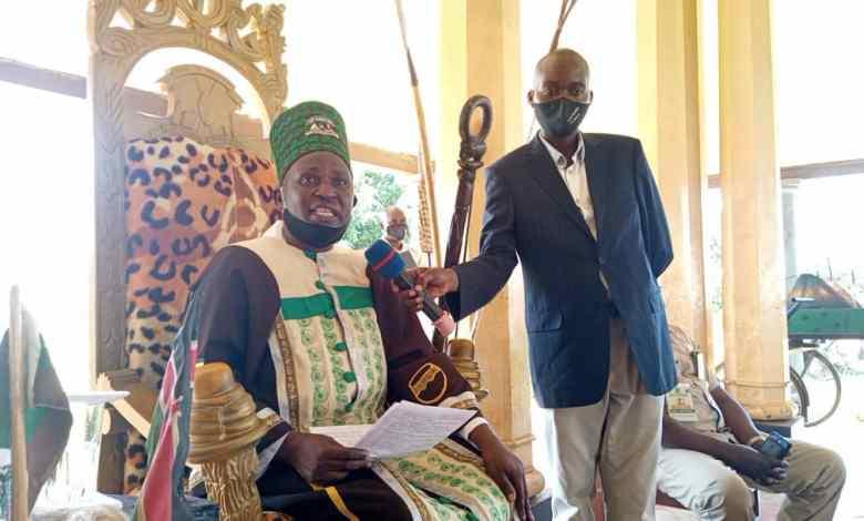John Amulamu Wagabyalile, the supposed Bamasaba cultural leader (PHOTO/Courtesy).