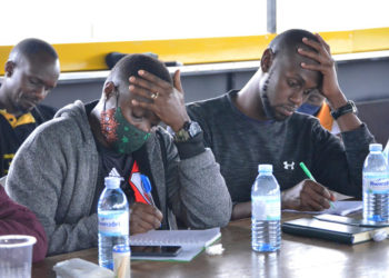 The course was moderated by World Rugby Trainer, David Kirabira and World Rugby Educator, Ramsey Olinga (PHOTO/Courtesy).