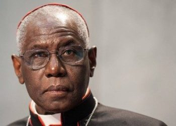 Cardinal Sarah Guinea, turned 75 on 15 June last year (PHOTO/Vatican news).