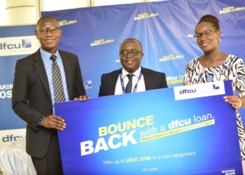 dfcu Bank unveiled Bounce Bank Loans campaign for businesses and individuals (PHOTO/Courtesy).