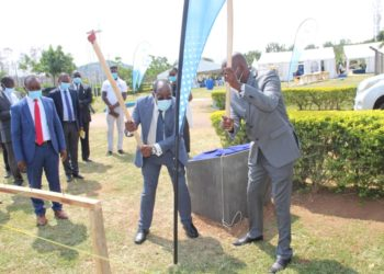 NWSC MD Dr. Eng Silver Mugisha underscored the role of technological innovation in enhancing productivity (PHOTO/Courtesy)