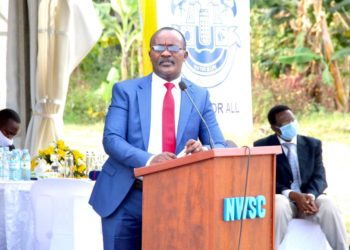 MD of NWSC Dr. Eng Silver Mugisha (PHOTO/Courtesy).