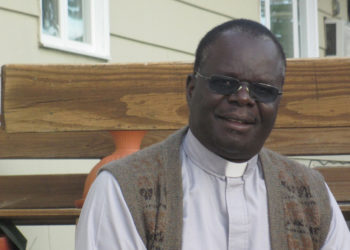 The newly appointed Bishop of Nebbi Diocese, Rev. Fr. Raphael p'Mony Wokorach (PHOTO/Courtesy).
