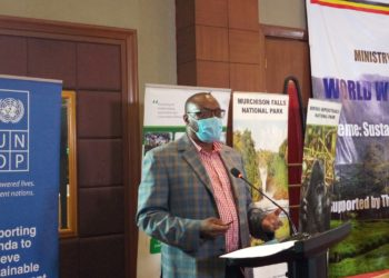 Mr. David Duli, WWF Uganda Country Director (PHOTO/PML Daily).