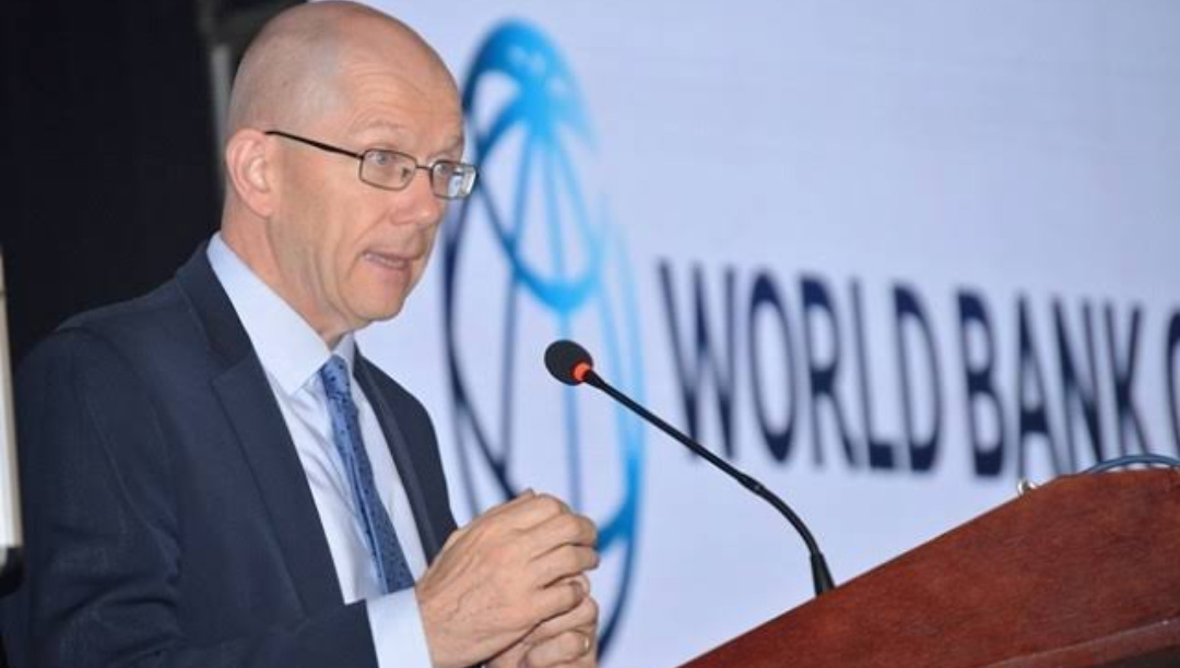 Tony Thompson, country manager at World Bank in Uganda (PHOTO/Courtesy).