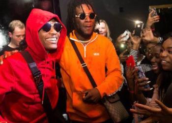 Nigerian Music stars Wizkid and Burna Boy respectively (PHOTO/Courtesy)