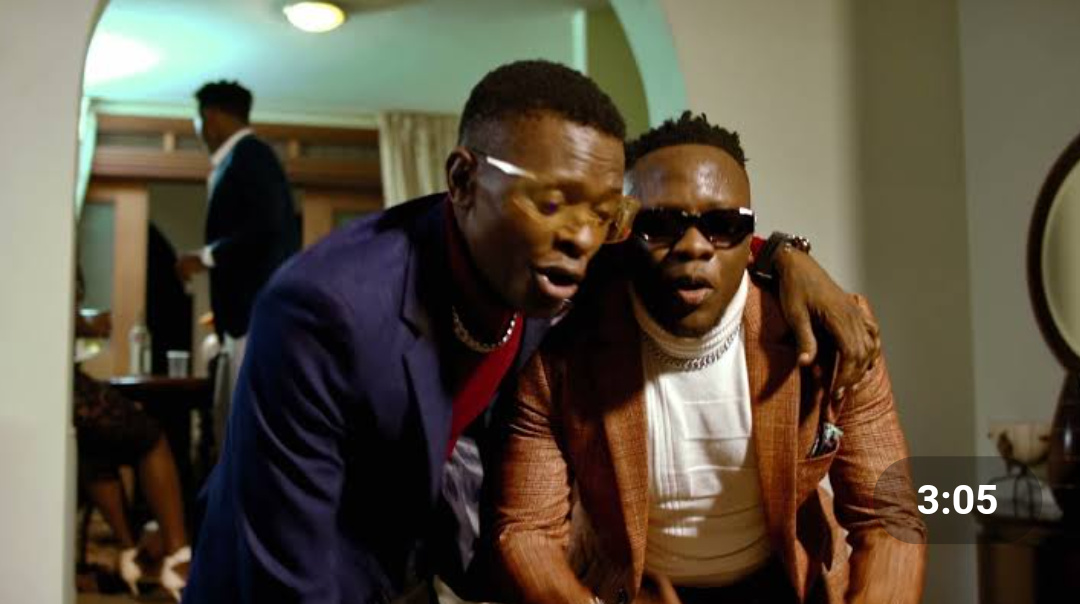 Singers Jose Chameleone and Geosteady respectively (PHOTO/Courtesy).