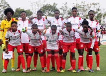 Uganda's Women national team that participated in a recent Cecafa tournament held in Njeru. (PHOTO/File)