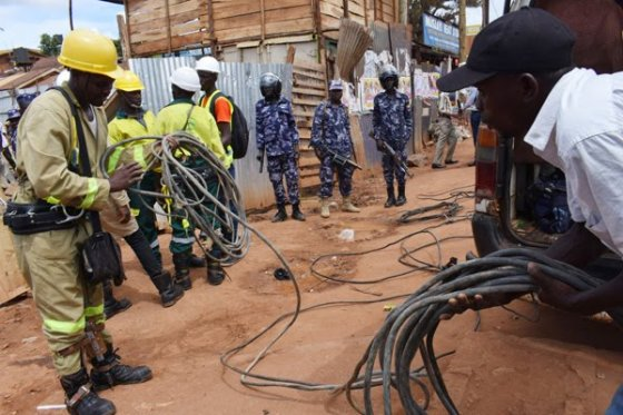 Umeme arrests hundred in Kampala for pinching electricity (PHOTO/File)