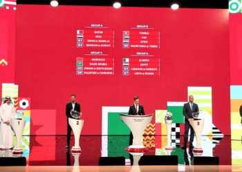 Arab Cup draws were conducted on Tuesday night in Doha.