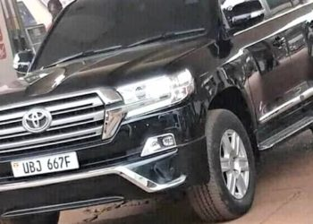 Bobi Wine's Vehicle under contention. (PHOTO/File)