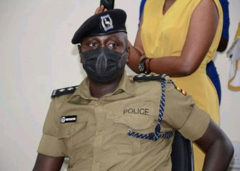 Kampala Metropolitan Police Deputy Spokesperson, Luke Owoyesigyire (PHOTO/Courtesy).