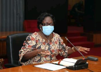 The Speaker at the launch of the end malaria campaign on Tuesday (PHOTO/Courtesy).