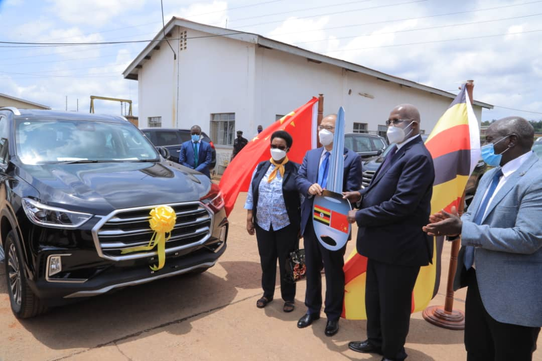 China donates fleet of motor vehicles to Uganda (PHOTO/Courtesy)