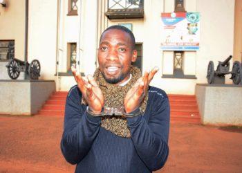 Dean Lubowa Saava in the custody (PHOTO/Courtesy).