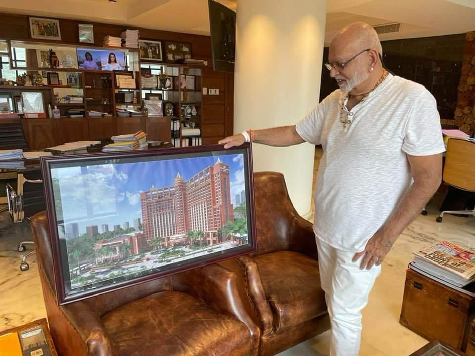 City tycoon Dr. Sudhir Ruparelia
