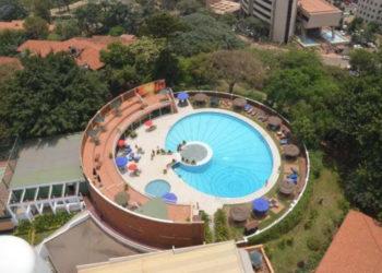 Aerial view of Sheraton Kampala Hotel (PHOTO/Courtesy).