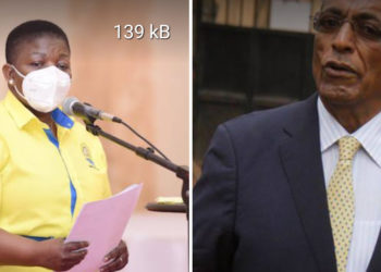 A college photo of NRM's Kasule Lumumba and Francis Babu respectively (PHOTO/File).