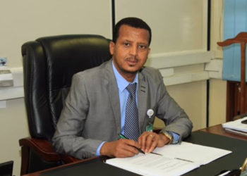 Fitsum Abadi, managing director of cargo and logistic services of Ethiopian Airlines (PHOTO/File).