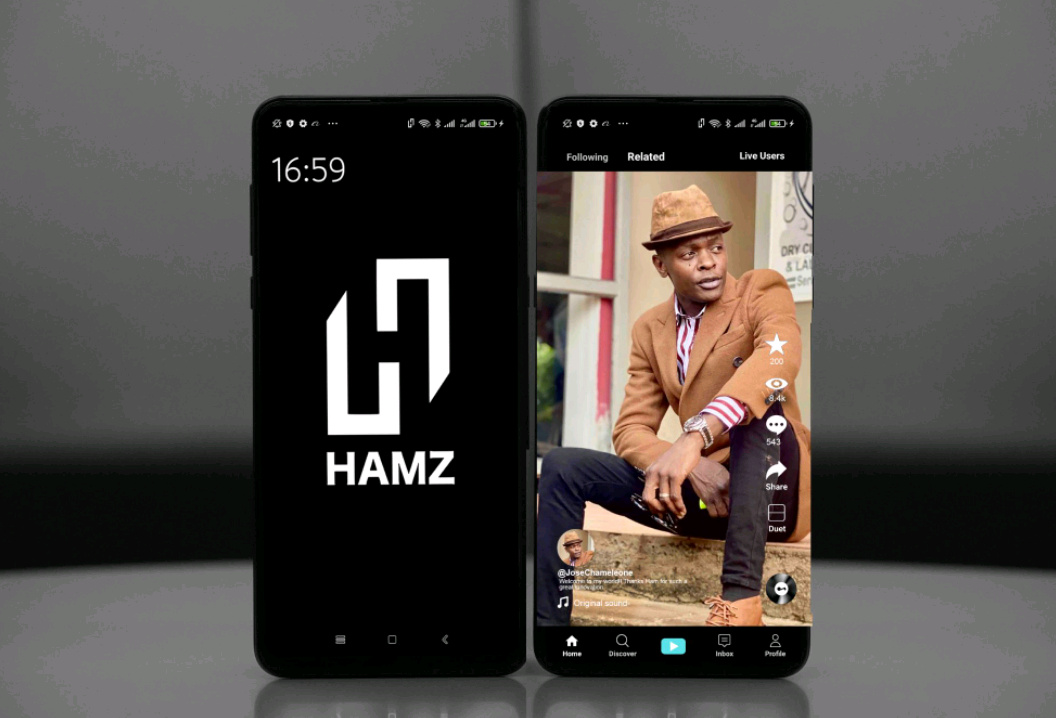 Hamz app is now proving wildly popular this year, the platform is suddenly becoming popular everywhere (PHOTO/Courtesy).