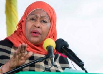 Tanzanian President Samia Suluhu (PHOTO/Courtesy).