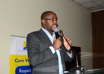 Mr. Ian Rumanyika, the URA Ag. Assistant Commissioner Public and Corporate Affairs (PHOTO/File)